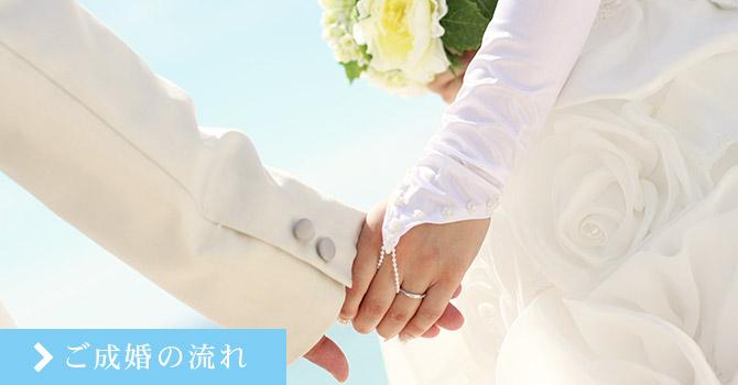 ご成婚の流れ